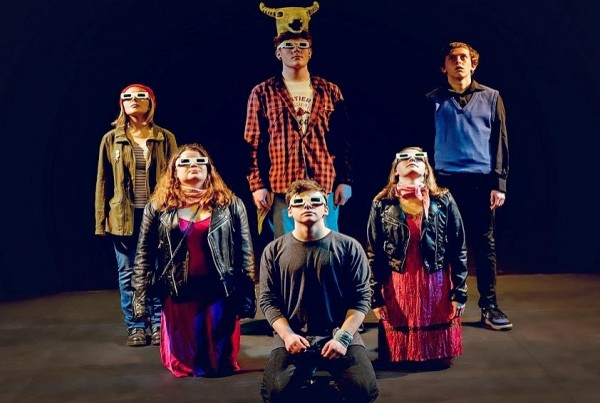 A selection of photos from young people's theatre plays